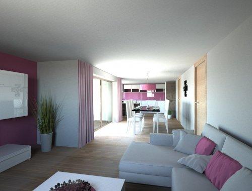 Novostavba bytové jednotky 2+kk Sokolnice